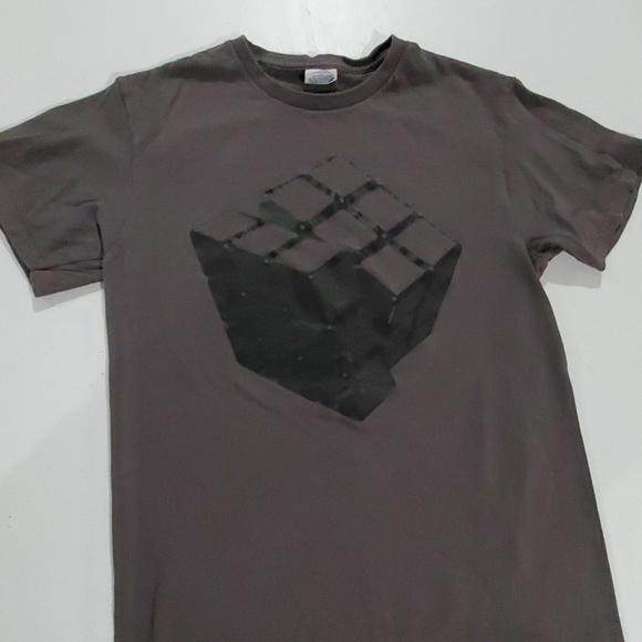 Delta Other - Rubix Cube Grey men's small tshirt